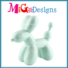 Lovely Balloon Dog Use ceramic Money Box for Saving