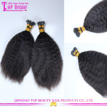 New Products Super Strong i Tip Hair Tangle Free Kinky Straight i Tip Hair Extension