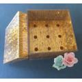 Vários cor personalizada caixa de flores de acrílico atacado