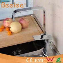 Kommerzielle Messinggeschirr Design Einhebel Küchenspüle Wasserhahn Wasserhahn mit Funkenbildung U Auslauf