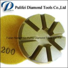Boden-Poliermaschine bearbeitet konkrete Terrazzo-Oberflächen-Diamant-Auflage
