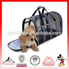 """Aerolínea modelo nuevamente diseñada """"transportador de mascotas del bolso de la cara suave del totalizador del viaje para los perros y los gatos (ES-Z322)"""