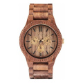 OEM Multi-Function Ebony Watches Gift Watches Wooden Watch