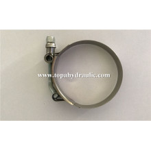 OEM/ODM for Hose Clamp T bolt stainless steel hose fittings clamp export to Turkmenistan Supplier