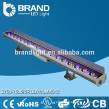 Outdoor wasserdichte RGB 36 * 1w LED Wandscheibe mit Fernbedienung