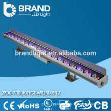 Arandela impermeable al aire libre de la pared del RGB 36 * 1w LED con el regulador alejado