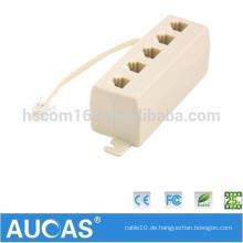 Hochwertiger US-Telefonadapter & Zubehör modulare Buchse