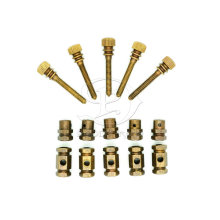 M4 Brass Tattoo Machine Binding Post Set