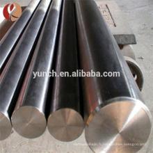 Barre diverse de taille de zirconium de haute qualité et de précision en stock