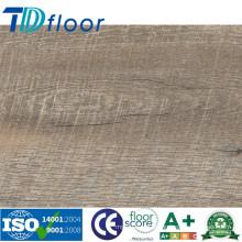 Planchers en vinyle de vrac de plancher en bois commercial de PVC de 5.0mm