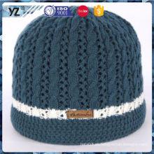 Las mujeres superventas de la manera de la calidad del OEM tejen el sombrero para la venta al por mayor