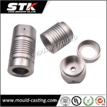 El metal de aluminio del CNC de la alta precisión dio vuelta a las piezas de la linterna de LED