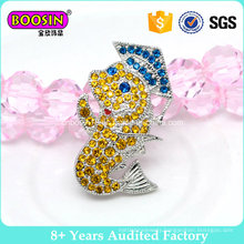 Fancy Glaring Rhinestone Crystal Brooch Pin