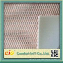 Tissu de collage coloré de nouvelle conception de haute qualité
