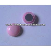Kunststoff Magnetknopf, Kunststoff beschichtet Magnet, runde Magnetknopf, Whiteboard Zubehör, 20mm XD-PJ201