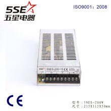 Hot Sales 200W 14A 15V Switching Power Supply
