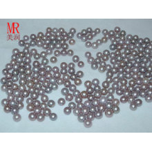6-7mm Lavender Round Freshwater Pearl Beads