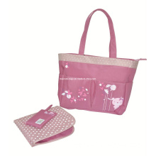 Fashion Mummy Mami Baby Diaper Nappy Bag with Mat