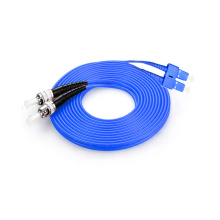SC to ST Armored Fiber Patch Cord