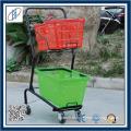 Shopping Folding Cart With Flexible Wheels