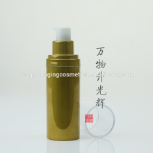 Clear Package Pump Bottle Airless Plastic Package For Cosmetic