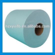 Polimento transversal / polpa de madeira Spunlace paralela do poliéster viscoso