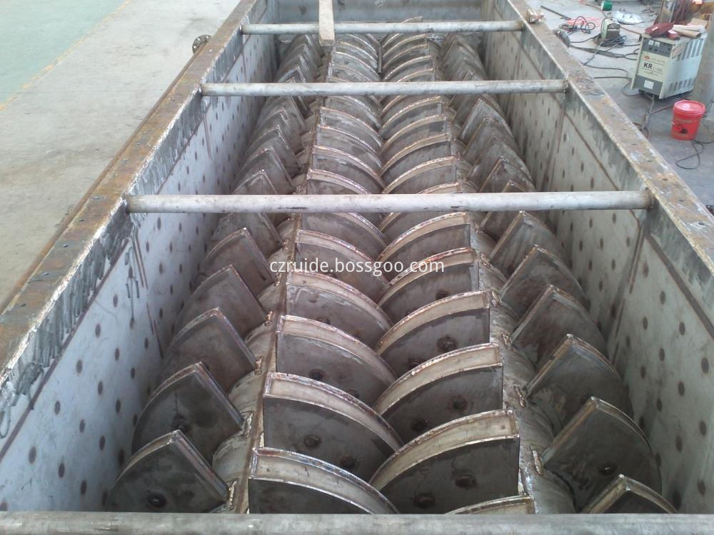 Organic Intermediate Hollow Paddle Drying Equipment