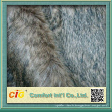 Hot Sale Artificial Long Pile Real Fur-Fabric