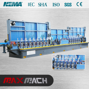Metal steel tube making machine