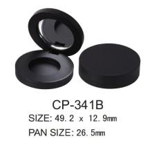 Round Magnet Plastic Compact Case