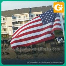 Bandera de poliester de Estados Unidos