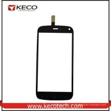 Venta al por mayor de China Negro Teléfono Móvil Nuevas piezas de panel de cristal táctil para Fly IQ4410
