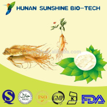 Kosher Certified China Supplier Concentrado de extracto de ginseng coreano puro con efecto antifatiga