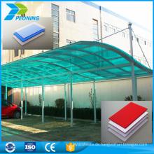 Wartungsfreundliche Polycarbonat transparente feuerfeste pc Engineering Kunststoff-Folie