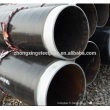 3PE revêtement sans soudure en acier tuyaux/pe tuyau/revêtement de tuyaux en acier