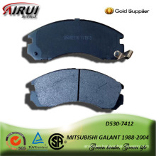 SEMI-METALLIC BRAKE PAD FOR MITSUBISHI GALANT 1988-2004