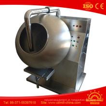 Máquina de revestimento pequena da tabuleta da máquina de revestimento do chocolate