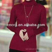 13STC5297 Frauen Pullover Turtlenck Pullover Kaschmirpullover