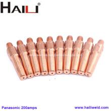 HAILI Panasonic 1.2mm Punta de contacto E-Cu