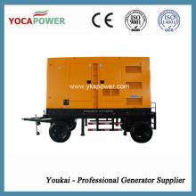 Shangchai 4-тактный двигатель 300 кВт Звукопоглощающий дизельный генератор