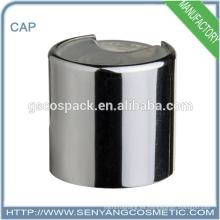 Casquillos de aluminio de la buena calidad para la tapa superior del disco de las botellas de cristal