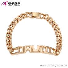 Xuping venta al por mayor de alta calidad de moda 18k pulsera de joyería de oro imitación -73980