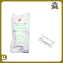 Medical Supplies of Sterile Gauze Bandage (7.5*450cm)