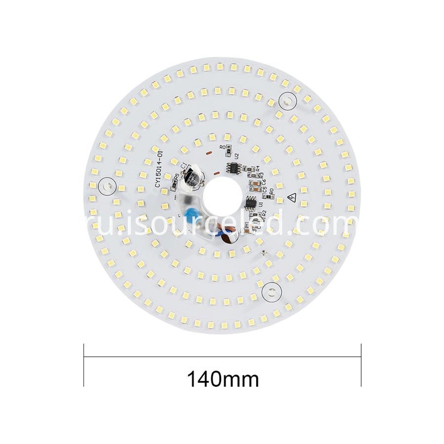 Ac linear round Dimming 15W Aluminum Base PCB full size picture