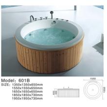 baignoire en bois, promenade dans la Chine de baignoire, baignoire en bois de baril