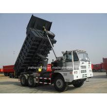 HOWO 50 Ton Dumper Mining Big Tipper Mine Truck