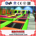 Hot Selling Jumping Indoor Trampoline with Safety Standard