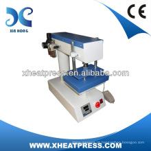 Pequena placa de pé, dispositivo de toque, operação, pressão pneumática, pressão de calor
