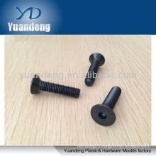 Hex socket countersunk head flat screws DIN7991