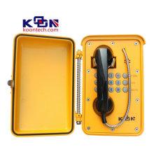 Caja de llamada de emergencia impermeable del teléfono del SUS